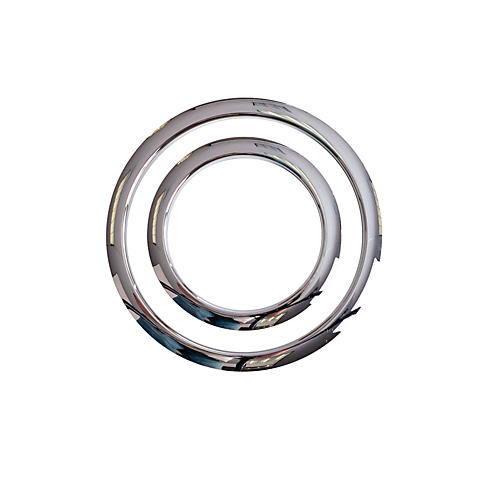 Gibraltar Port Hole Protector Chrome 4 in.