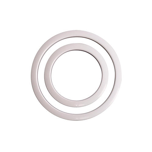 Gibraltar Port Hole Protector White 6 in.