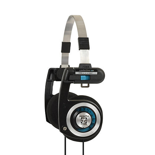 Koss Porta Pro Classic Portable On-Ear Headphones Black / Silver