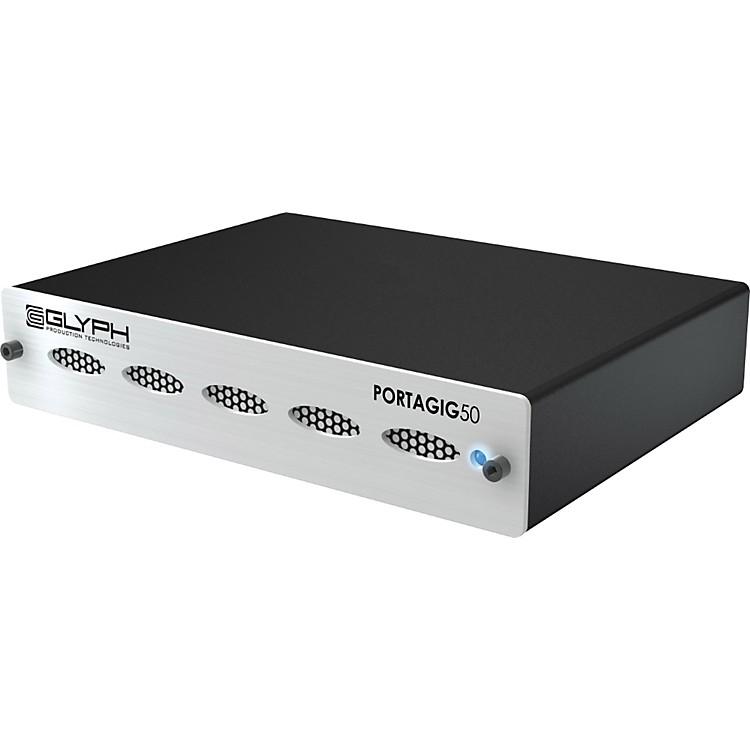 GlyphPortaGig 50 FireWire/USB 2.0/E Sata External Hard Drive