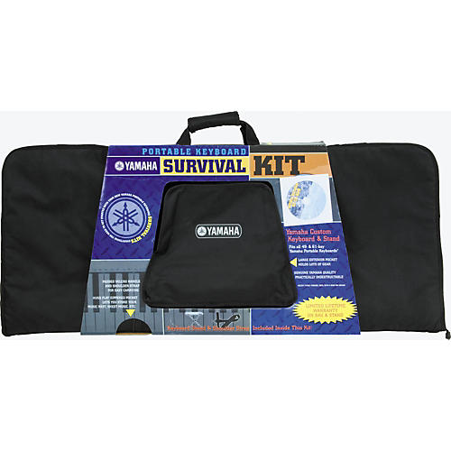 Yamaha Portable Keyboard Survival Kit 2 with Learn to Play CD