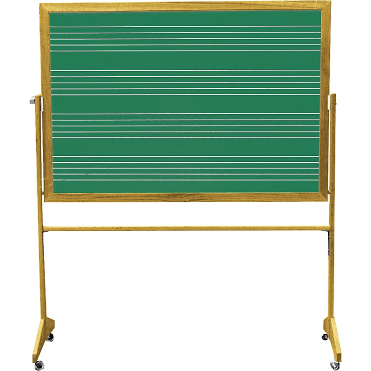 Vecchio Portable Music Staff Chalkboards 4 FTx5 FT Chalkboard (5 staves)
