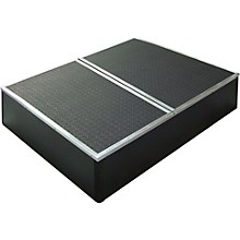 Control Acoustics Portable Stage with Rubber Diamond Mat Surface 3 x 4 ft.