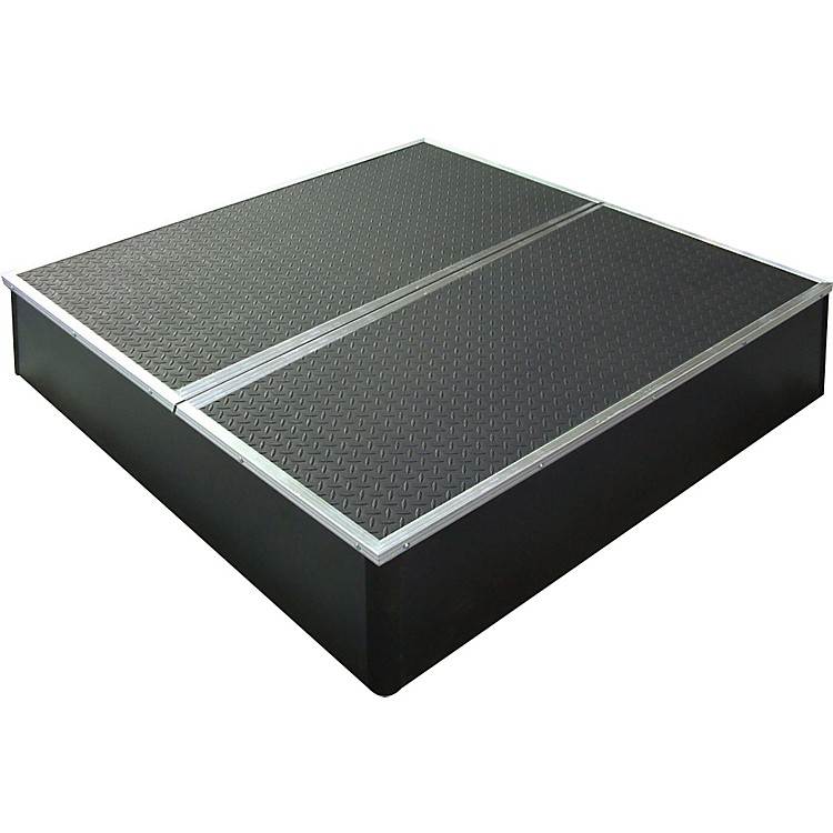 Control Acoustics Portable Stage with Rubber Diamond Mat Surface 3x3 feet