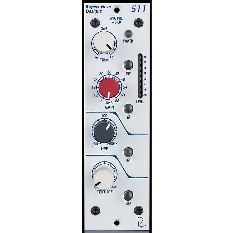 Rupert Neve DesignsPortico 511 500 Series Mic Pre with Texture