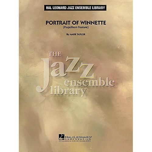 Hal Leonard Portrait of Winnette (Flugelhorn Feature) Jazz Band Level 4 Composed by Mark Taylor-thumbnail