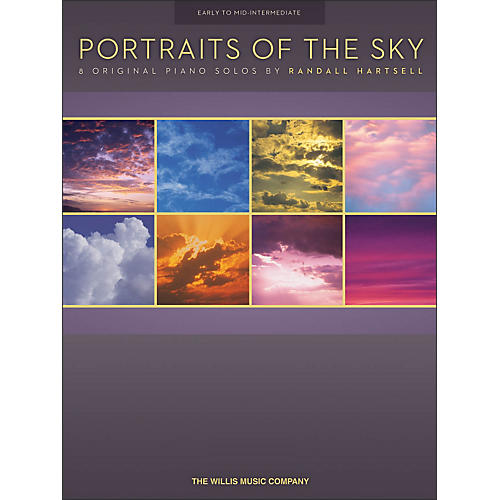Willis Music Portraits Of The Sky - 8 Early To Mid-Intermediate Piano Solos