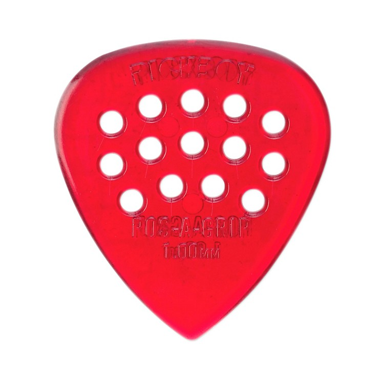 Pick BoyPos-a-Grip Red Polycarbonate (10-pack)1.00MM