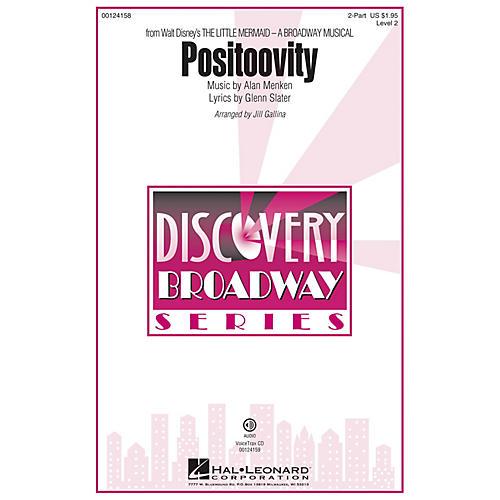 Hal Leonard Positoovity (from Walt Disney's The Little Mermaid) Discovery Level 2 2-Part arranged by Jill Gallina-thumbnail