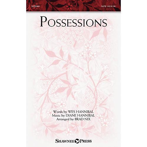 Shawnee Press Possessions SATB arranged by Brad Nix-thumbnail