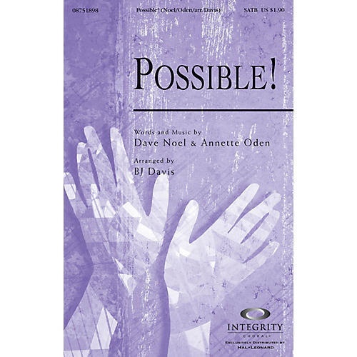 Integrity Choral Possible! SATB Arranged by BJ Davis-thumbnail
