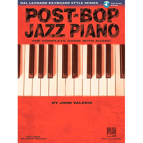 Hal Leonard Post-Bop Jazz Piano - The Complete Guide (Book/CD)-thumbnail