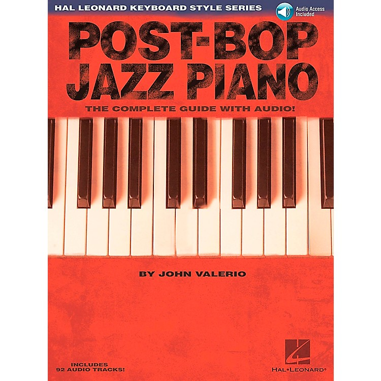 Hal Leonard Post-Bop Jazz Piano - The Complete Guide (Book/CD)