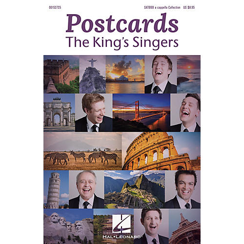 Hal Leonard Postcards (The King's Singers) SATBBB a cappella by The King's Singers