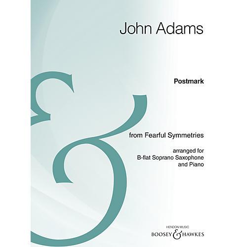 Boosey and Hawkes Postmark Boosey & Hawkes Chamber Music Series  by John Adams-thumbnail