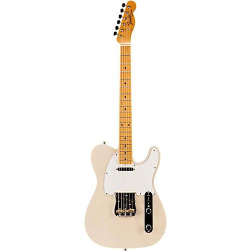 Fender Custom Shop Postmodern NOS Telecaster Electric Guitar Maple Fingerboard Aged White Blonde