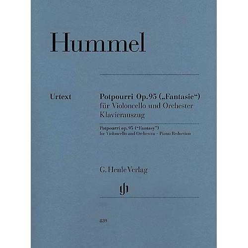 G. Henle Verlag Potpourri Op. 95 (Fantasy) Henle Music Folios Series Softcover-thumbnail
