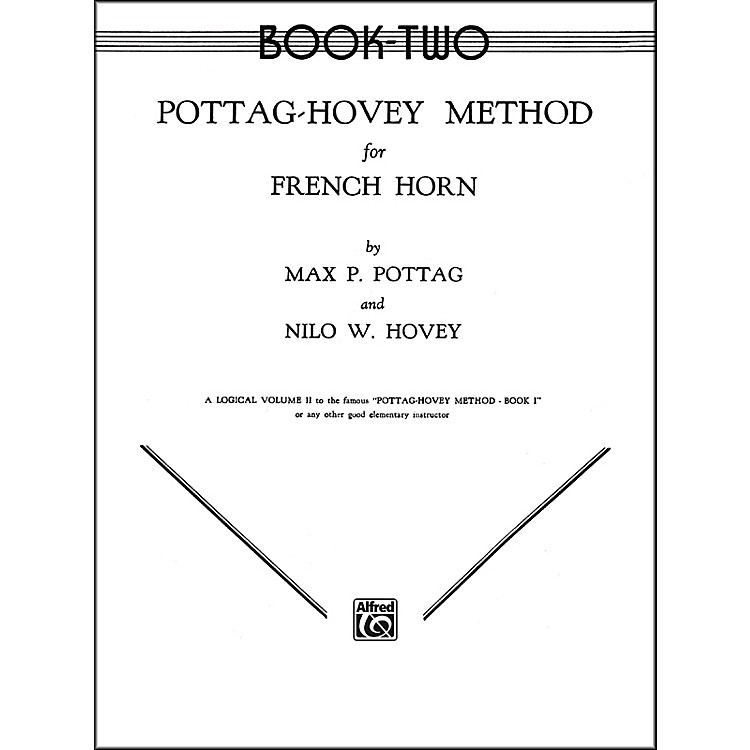 AlfredPottag-Hovey Method for French Horn Book II