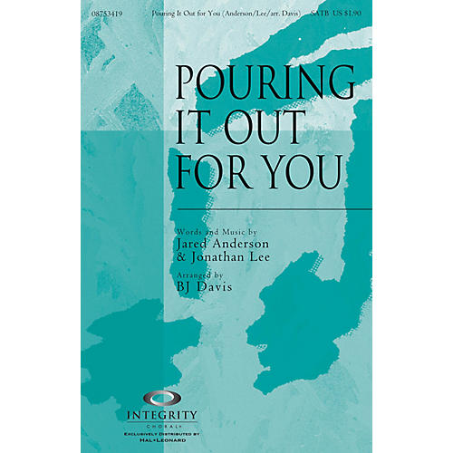Integrity Choral Pouring It Out for You CD ACCOMP Arranged by BJ Davis-thumbnail