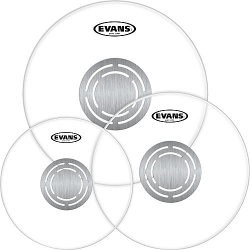Evans Power Center Clear Drumhead Pack-thumbnail