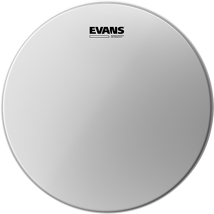 Evans Power Center Reverse Dot Head  14 Inches