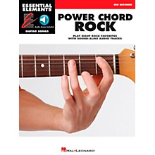 Hal Leonard Power Chord Rock - Essential Elements Guitar Songs (Book/CD) Mid Beginner