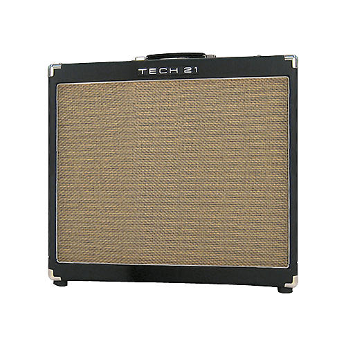 Tech 21 Power Engine PE 60/410 60W 4x10 Powered Extension Speaker Cabinet-thumbnail
