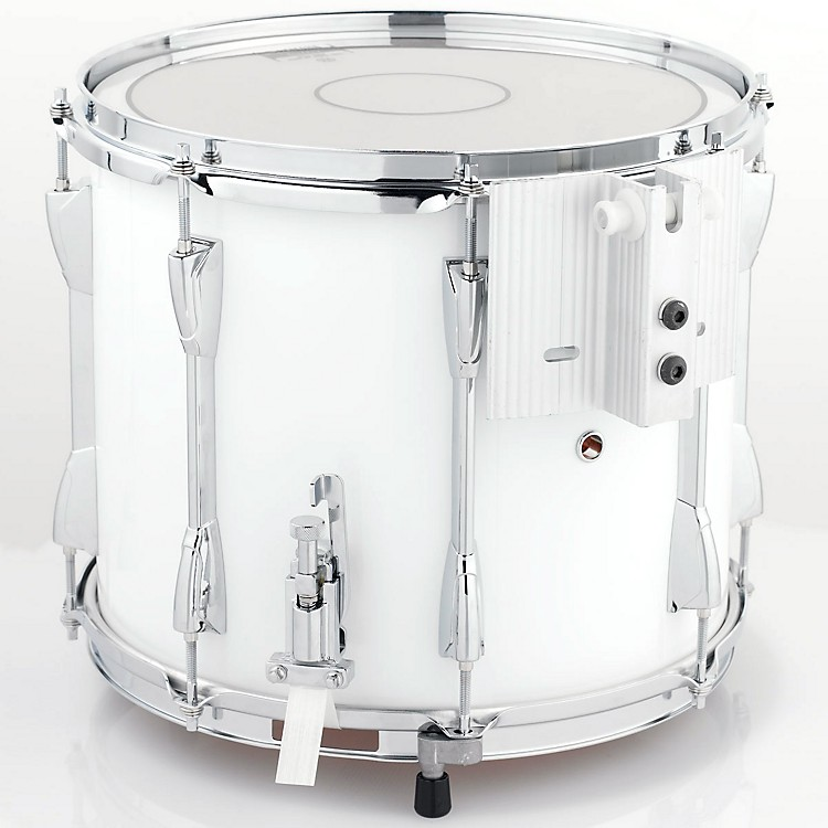 Yamaha Power-Lite Marching Snare Drum White Wrap 13 Inch