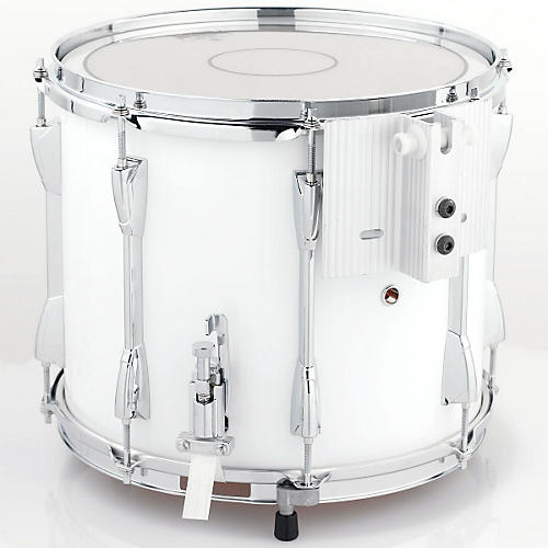 Yamaha Power Lite Marching Snare Drum White Wrap  In