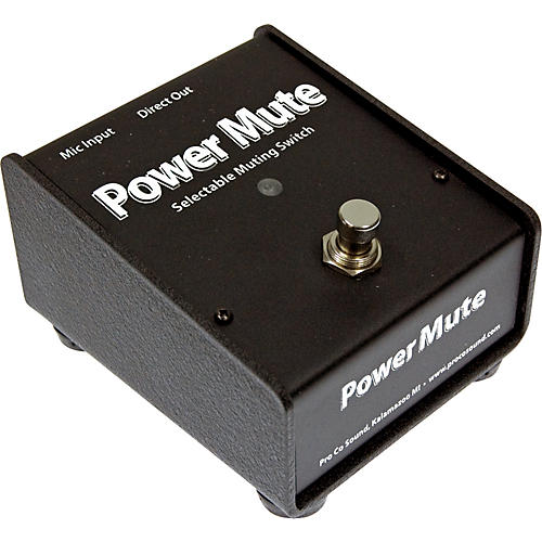 Pro Co Power Mute Mic Mute Switch