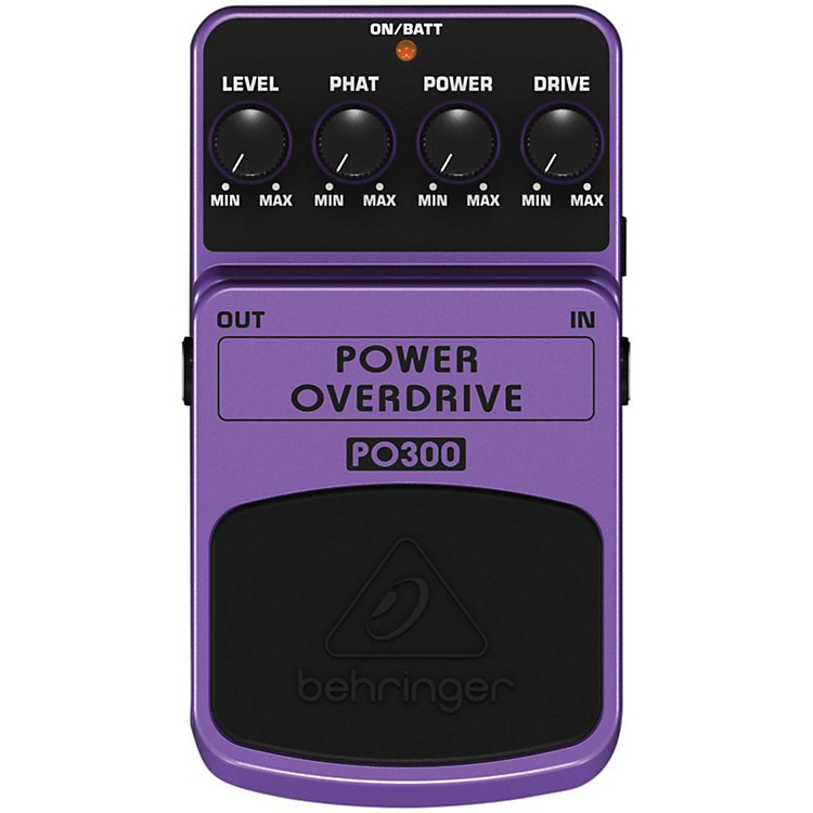Behringer Power Overdrive PO300 Guitar Effects Pedal