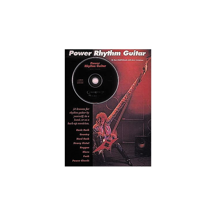 Hal Leonard Power Rhythm Guitar Book/CD