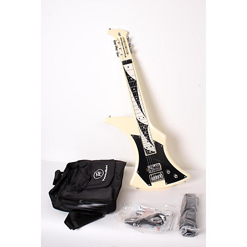 open box peavey power slide guitar ivory 888365894317 musician 39 s friend. Black Bedroom Furniture Sets. Home Design Ideas