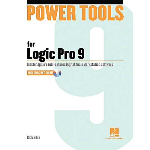 Hal Leonard Power Tools For Logic Pro 9 Book w/DVD-thumbnail