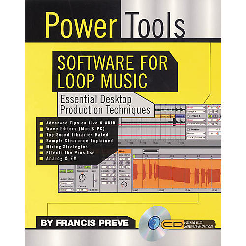 Backbeat Books Power Tools Software for Loop Music (Book/CD-ROM)-thumbnail