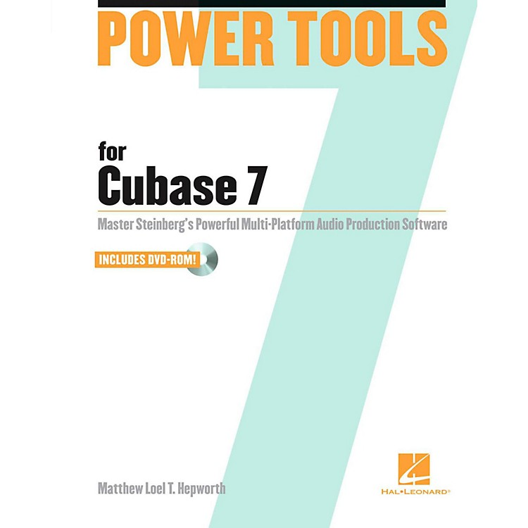 Hal Leonard Power Tools for Cubase 7 Book/DVD-ROM