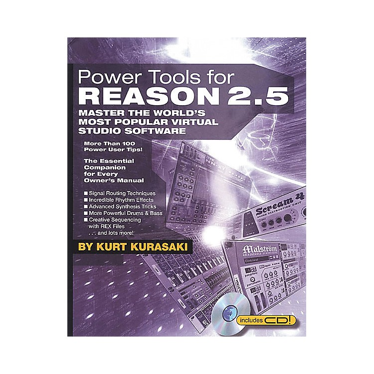Backbeat BooksPower Tools for Reason 2.5 (Book/CD-ROM)