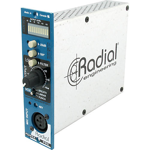 Radial Engineering PowerPre Mic Preamplifier-thumbnail