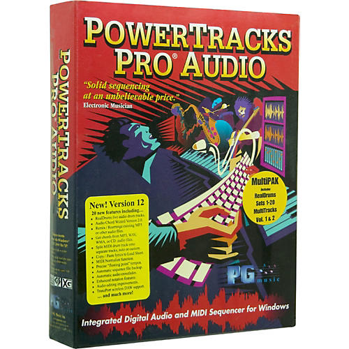 PG Music PowerTracks Pro Audio 12 MultiPAK 2009 for Windows