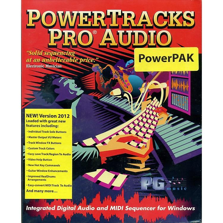 eMediaPowerTracks Pro Audio PowerPAK 2012