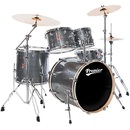 Premier Powerhouse Stage 20 5-Piece Drumset with Cymbals and Hardware-thumbnail