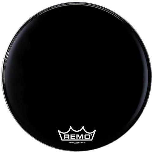 Remo Powermax 2 Marching Bass Drum Head Ebony 22 in.