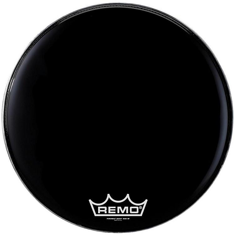RemoPowermax Ebony Marching Bass Head20 inch