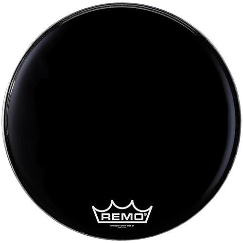 Remo Powermax Ebony Marching Bass Head 24 in.