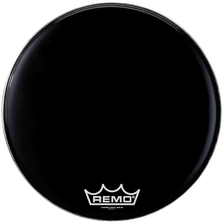 Remo Powermax Ebony Marching Bass Head 24 inch