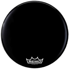 Remo Powermax Ebony Marching Bass Head 28 in.