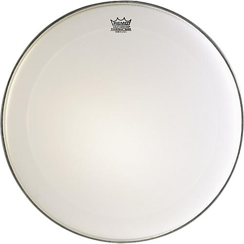 Remo Powermax Marching Bass Drum Head Ultra White 16 in.