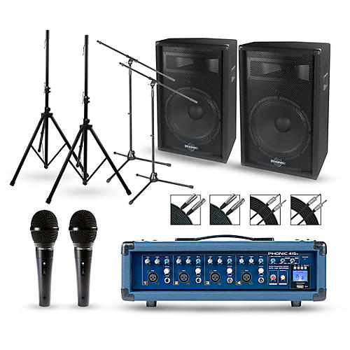 Phonic Powerpod 415R with S7 Series Speakers PA Package-thumbnail