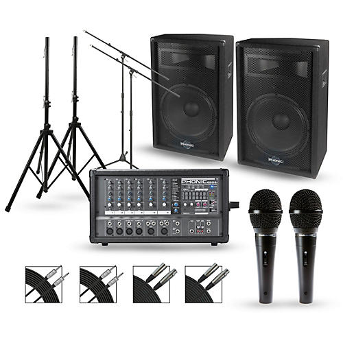 Phonic Powerpod 620 Plus with S7 Series Speakers PA Package-thumbnail