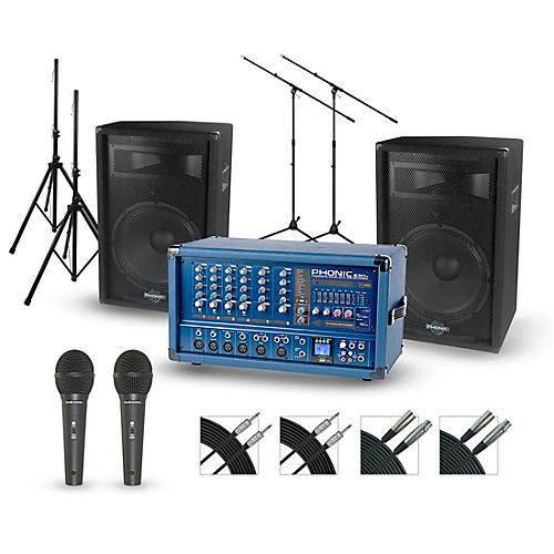 Phonic Powerpod 630R with S7 PA Package-thumbnail